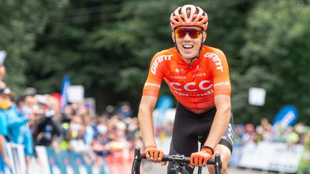Valter Attila profi kerékpáros az idei évben előbb a Tour de Hongrie-t nyerte meg, majd októberben a Giro d'Italia mezőnyében alkotott emlékezeteset