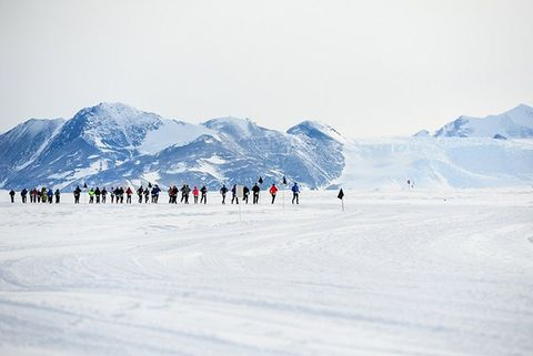 Antarctic running