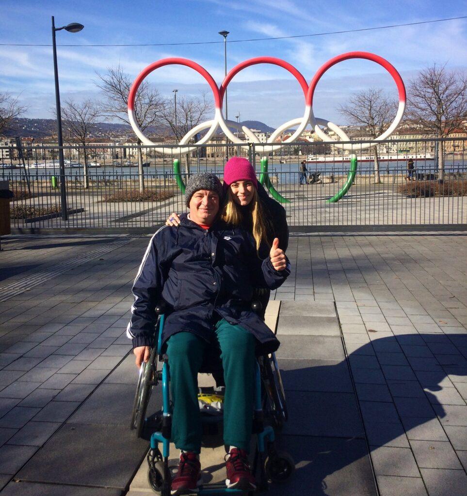 Újra apa-lánya páros, Gurisatti Gréta válogatott vízilabdázó édesapjával Gurisatti Gyula paralimpikon parasportlövővel szerepelhet a Tokiói Olimpián.