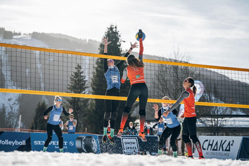 Snow Volleyball European Tour